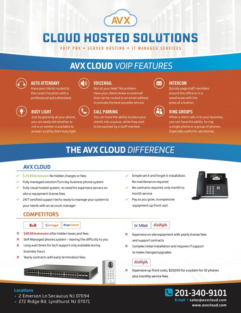 AVX cloud Business Phone solutions